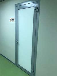 Алюминиевая дверь 45 серии