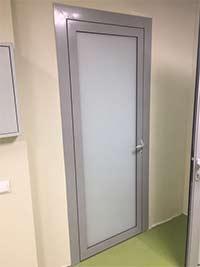 Дверь в кабинет из алюминия