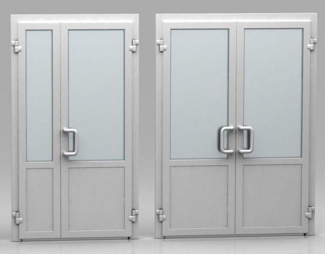 Варианты дверей из Алюминия